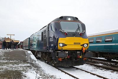 88008, Dereham, 1W17 14.40 to Wymondham Jctn. - 18/03/18