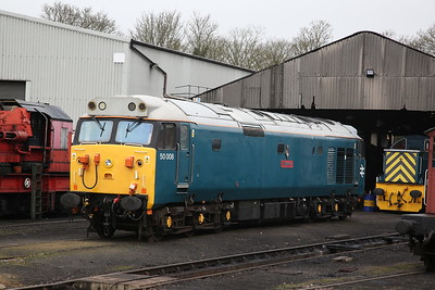 50008, Wansford Yard - 08/04/18