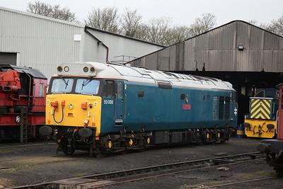 50008, Wansford Yard - 08/04/18