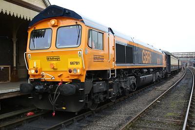 66781, Wansford, 11.40 to Peterborough NVR - 08/04/18