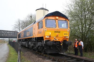 66781, Peterborough NVR, running round - 08/04/18