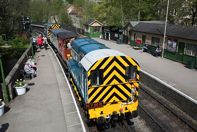 North Yorkshire Moors Railway for 08495, 6th May 2018