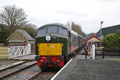 44008 arr Darley Dale, 15.14 Matlock-Rowsley South - 08/04/18