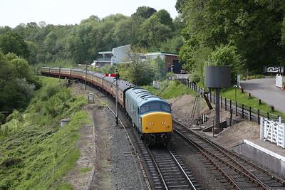 45041 arr Highley, 09.55 Kidderminster-Bridgnorth - 18/05/18