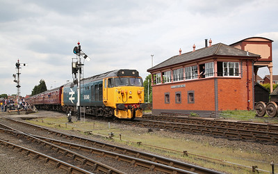 50049 dep Kidderminster, 14.35 to Bridgnorth - 18/05/18