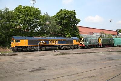66726 / 09012 / 08015, Kidderminster diesel depot - 18/05/18