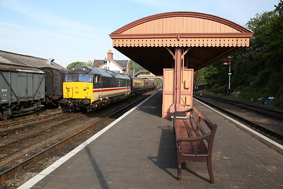 50031, Bewdley, ECS for 08.55 to Kidderminster - 18/05/18