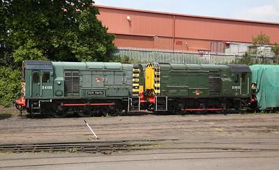 09012 / 08015, Kidderminster diesel depot - 18/05/18