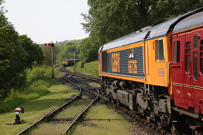 66726, Hampton Loade, 09.35 Bridgnorth-Kidderminster ..... D1015 arrives on 09.10 Kidderminster-Bridgnorth - 18/05/18