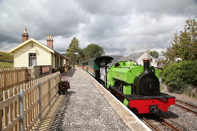 South Tynedale Railway, 4th August 2018