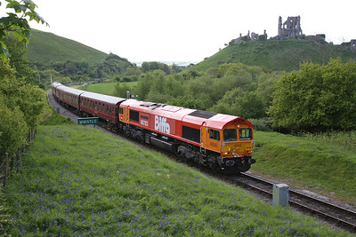 Swanage Railway Diesel Gala for 66783, 13th May 2018