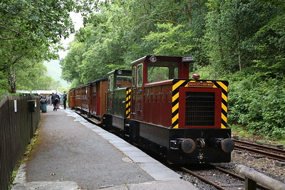 TR No.12 & TR No.11, Abergynolwyn, 11.05 Nant Gwernol-Tywyn Wharf - 16/06/18