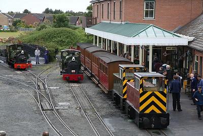 TR No.12 & TR No.11, Tywyn Wharf, 10.00 to Nant Gwernol - 16/06/18