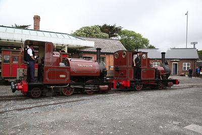 TR No.1 & TR No.2 Tywyn Wharf - 16/06/18