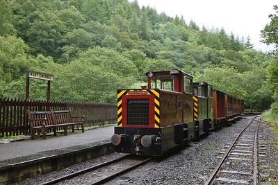 TR No.12 & TR No.11, Nant Gwernol, 11.05 to Tywyn Wharf - 16/06/18