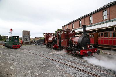 TR No.5, TR No.1 & TR No.2 Tywyn Wharf - 16/06/18