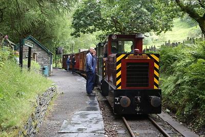 TR No.12 & TR No.11, Dolgoch, 11.05 Nant Gwernol-Tywyn Wharf - 16/06/18