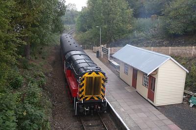 Telford Steam Railway for 08757, 30th September 2018