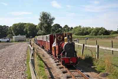 Windmill Farm Railway, 5th August 2018