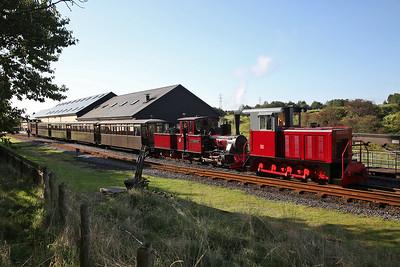 Brecon Mountain Railway, 14th September 2019