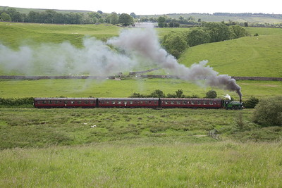 Embsay & Bolton Abbey Steam Railway for 'Illingworth', 22nd June 2019