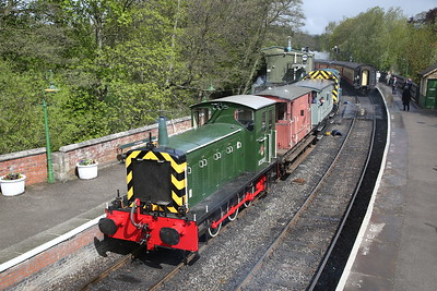 North Yorkshire Moors Railway for D2207, 4th May 2019
