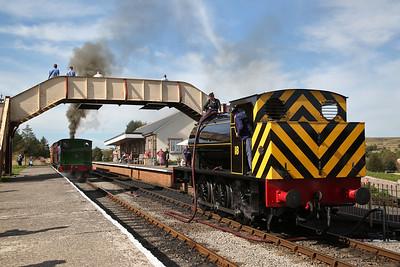 Pontypool & Bleanavon Railway, Steam Gala, 14th September 2019