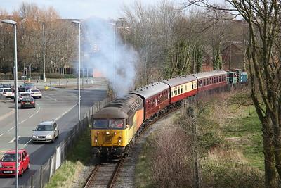 Ribble Steam Railway, Diesel Gala, 23rd March 2019