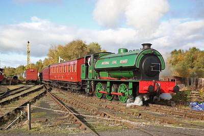 Tanfield Railway, 'Run it' Gala, 12th October 2019