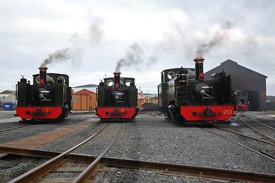 Vale of Rheidol, 'Forgotten Engines 2' gala, 15th September 2019