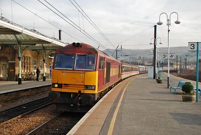 UK Railtours 'Hills of the North', 31st January 2009