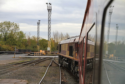 66206 in Wolverhampton Steel Terminal on 1Z67 - 29/10/11.