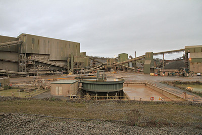 Overall view of the complex at Stud Farm Quarry - 29/10/11.