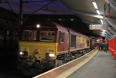 66206 at Crewe about to depart on 1Z66 - 29/10/11.
