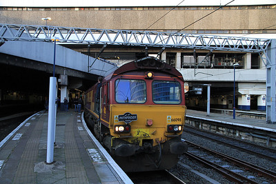 66098 at Birmingham New St. on 1Z65 - 17/12/11.