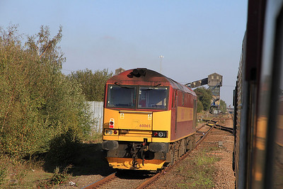 Pathfinder Tours 'The Ousing Dove' with 60065, 15th October 2011