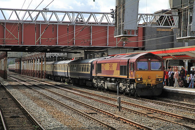 66122 at Crewe on 1Z92 - 20/08/11