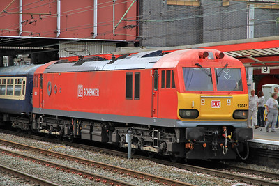 92042 at Crewe on 1Z92 - 20/08/11