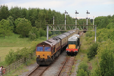 UK Railtours 'The Midland & Great Central No 2', 4th June 2011