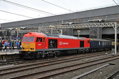 60092, London Euston, 1Z57 - 22/12/12.