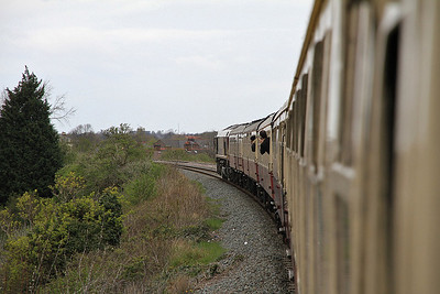 66138 heads 1Z44 through the delightful Liverpudlian suburbs - 14/04/12.