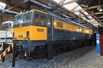 ex-NS 1505 (ex-BR 27001) 'Ariadne' on display inside MOSI  - 03/11/13.