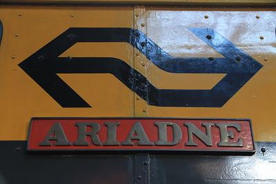 'Ariadne's nameplate  - 03/11/13.