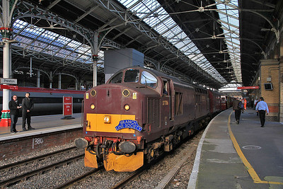 37706 arrives at Preston (P7) on 1Z62  - 03/11/13.