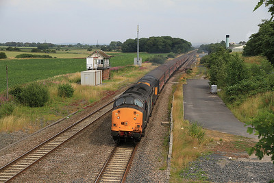 37603/20312 passing Salwick SB, 1Z87 - 27/07/13.