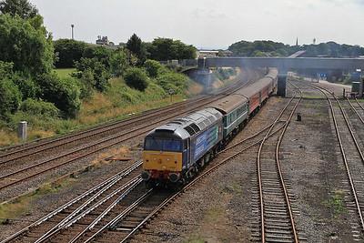 47805 passes Kirkham & Wesham, 1Z86 - 27/07/13.