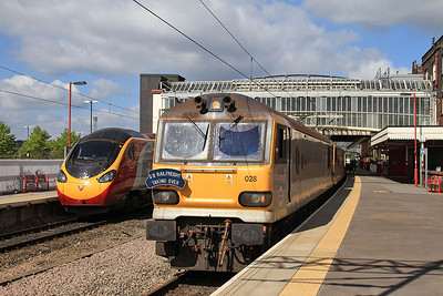 GBRF 'The AC-DC Highway to Hampshire' Charity Tour, 7th September 2014