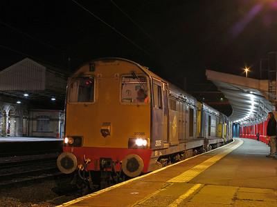20305+20302+37194 (Failed), Crewe, 1Z22 - 11/01/14.