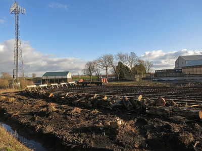 Papworth Sidings, Ely - 11/01/14.
