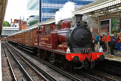 Met No.1, Hammersmith, 150 15.28 special to Moorgate - 02/08/14.